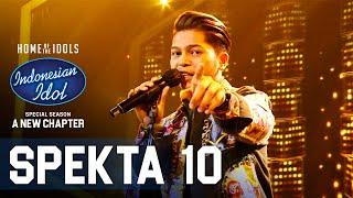 Download lagu MARK - LEAVE THE DOOR OPEN - SPEKTA SHOW TOP 4 - Indonesian Idol 2021