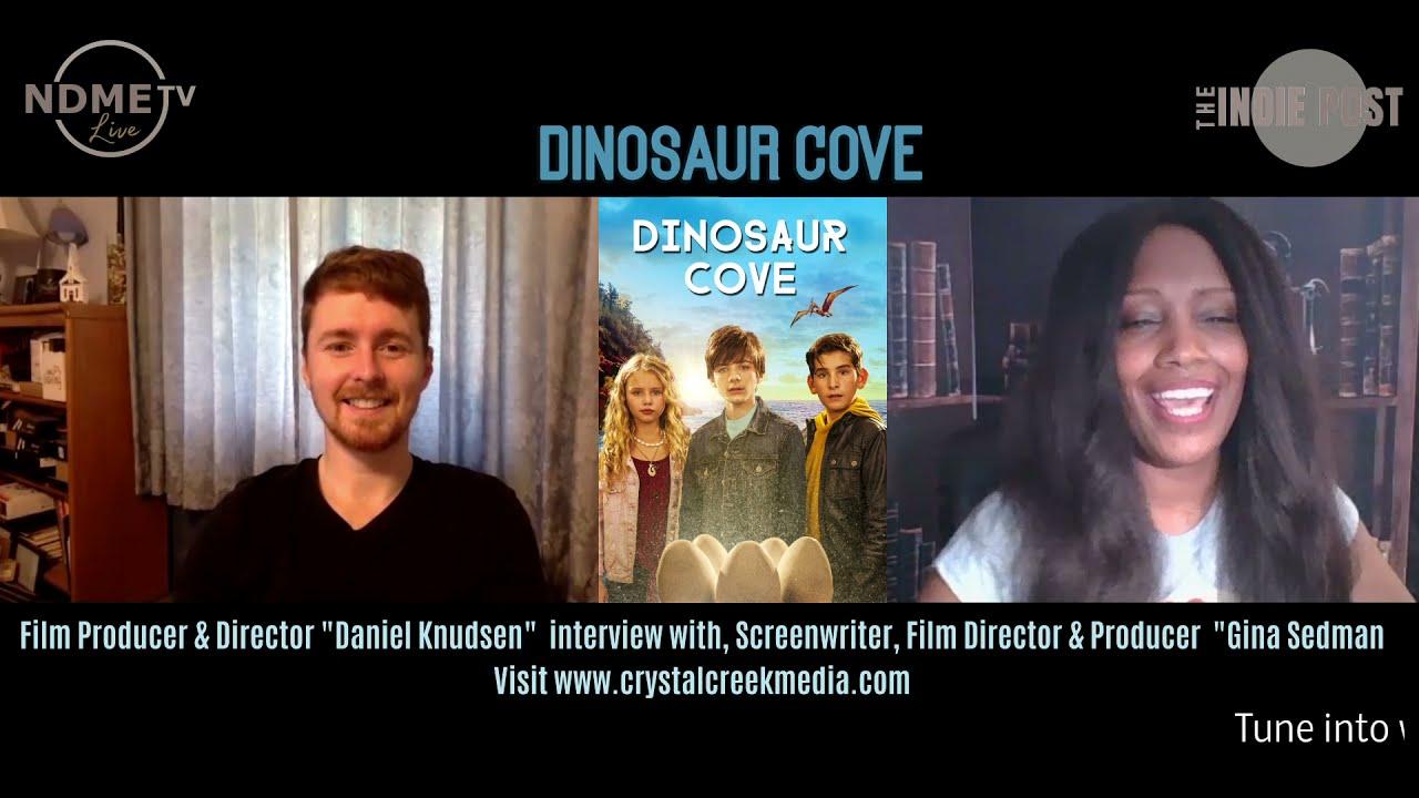 Dinosaur Cove   Movie   NDME TV Live Interview   Daniel Knusen  (2021)