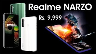 Realme Narzo 10 Full Specification, Price, Launch Date | Best Gaming Phone Rs  9,999
