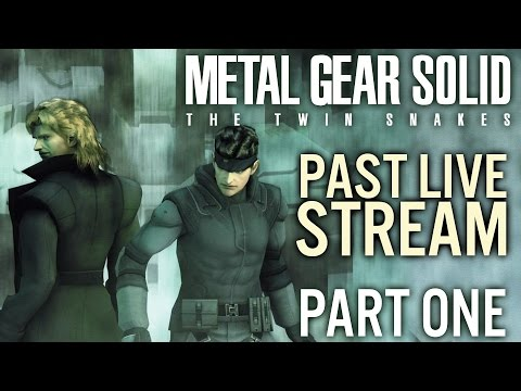 Metal Gear Solid The Twin Snakes Part 1 |  Past Live Stream - Gamecube