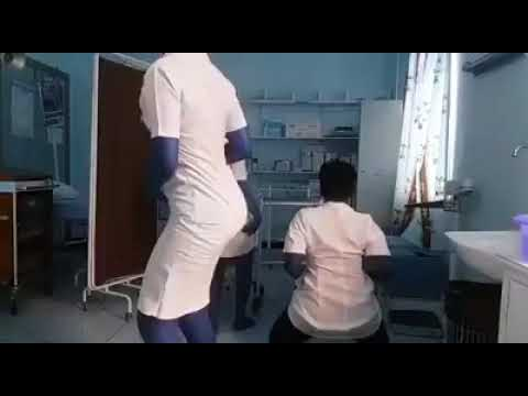 Zimbabwe Nurses twerking on duty