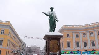 Зимняя Одесса 2021