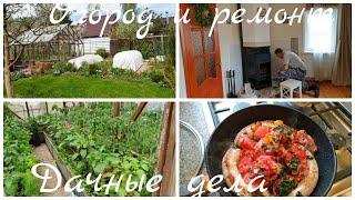 Дачные дела Садово-огородное Ремонт дачи- главное начать Двери надо перекрасить Не все сразу