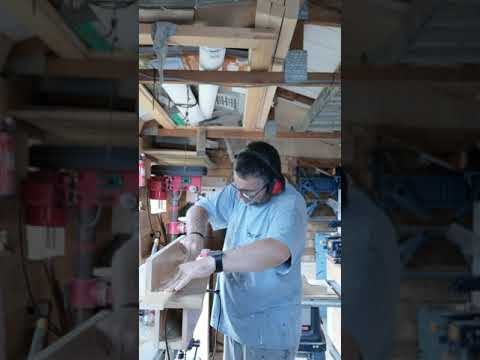 DIY jointer with an electric planer