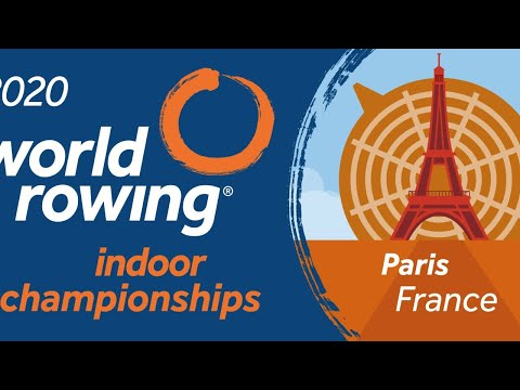 2020 World Rowing Indoor Championships, Paris, France - Day 2 - Saturday - Masters Races
