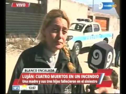 Fatal incendio en Blanco Encalada dejó un saldo de 4 muertos.