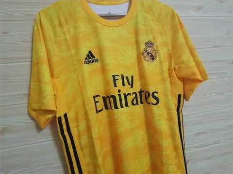 quality design 7f475 5d8e8 Real Madrid Goalkeeper Kit 2019/20