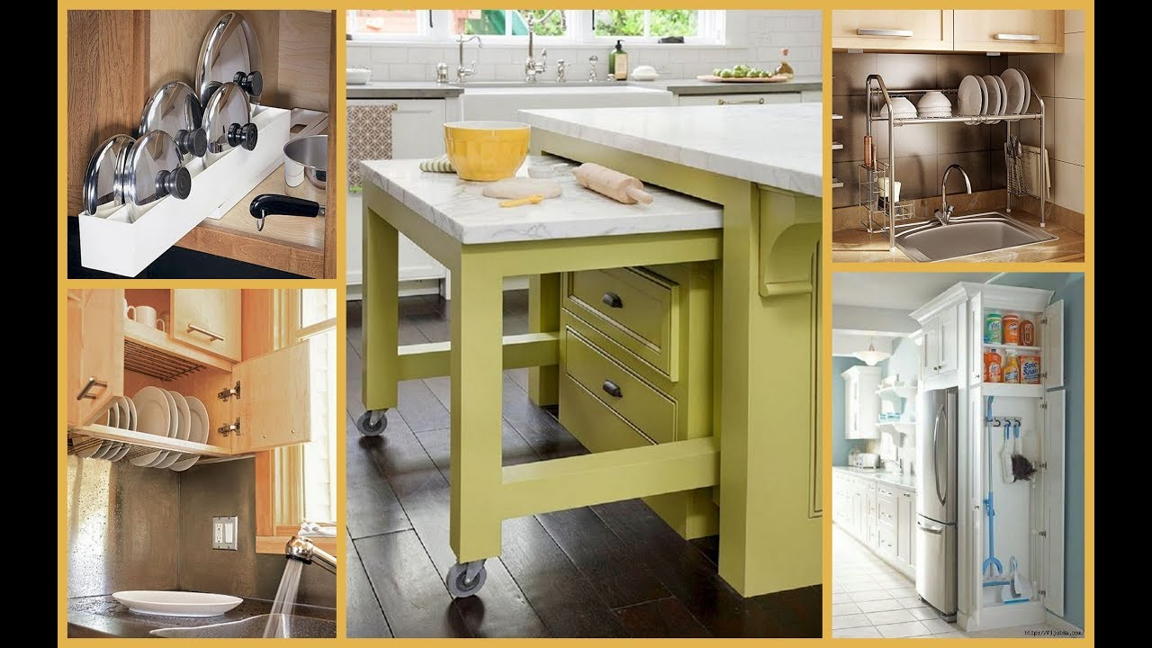 Modular Kitchen Space Saver and Organization Ideas- Plan N Design