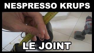nespresso krups caractéristique du joint pour reparer la fuite d'eau Krups sur XN2003 Essenza