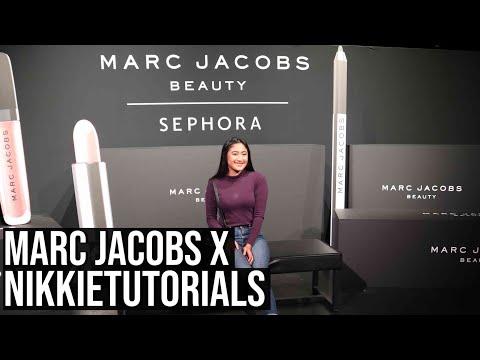 NikkieTutorials X Marc Jacobs Masterclass Vlog + I met NikkiaJoy too!!! thumbnail