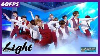 60FPS 1080P | WANNAONE - Light, 워너원 - 켜줘 Show Music Core 20180616