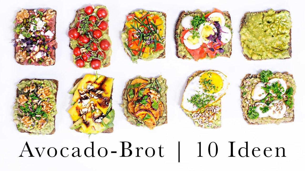 10 IDEEN für dein Avocado-Brot | Gesund, lecker, einfach und schnell | Rezeptideen | Sheila Gomez