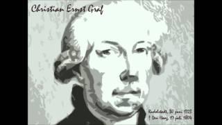 Christian Ernst Graf - Sinfonia voor orkest, opus 1 nummer 2 in C gr.t.