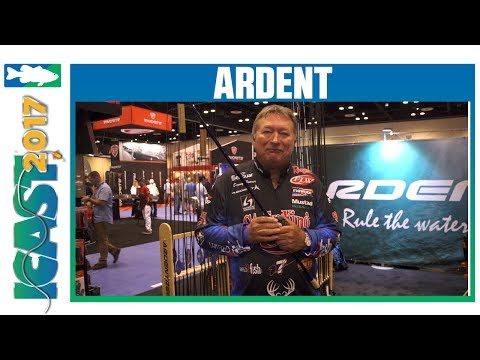 Ardent Professional Reel Parts - Grips With Denny Brauer | ICAST 2017
