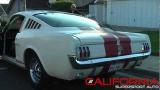 1966 Ford Mustang Fastback 2+2 - Inspection Video WWW.CALIFORNIASUPERSPORT.COM