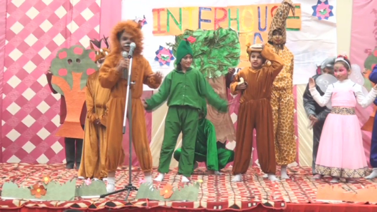 d889c08f82 Animal Characters Fancy Dress Competition Junior Class - YouTube
