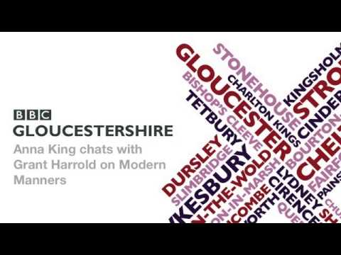Grant Harrold interviewed by BBC Gloucestershire on British Manners