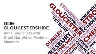 Grant Harrold interviewed by BBC Gloucestershire on British Manners Thumbnail
