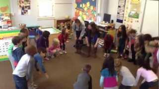 Upper School and Pre-Primary students sing French songs.MOV