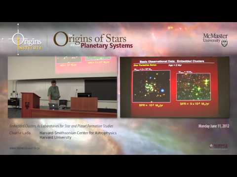 Charlie Lada -- Embedded Clusters As Laboratories for Star and Planet Formation Studies -