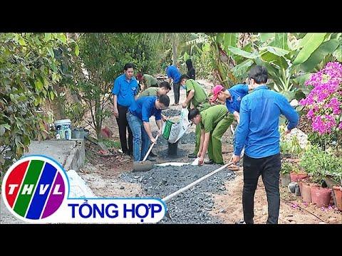 Đoàn thanh niên tham gia xây dựng nông thôn mới