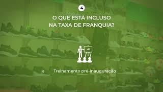 Taxas da Franquia Lojas Calci