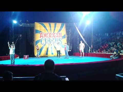 Clown tumpy american circus