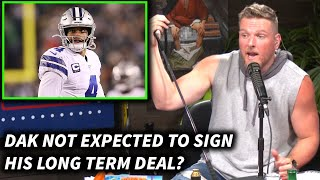 Pat McAfee Reacts To Dak Prescott Not Signing A Long Term Deal With The Cowboys