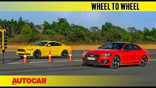 Drag Race: Ford Mustang GT vs Audi RS5 | Autocar India