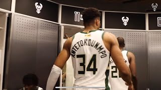 All Access: Exclusive Look Inside The Bucks Locker Room After NBA Finals Game 4 Victory