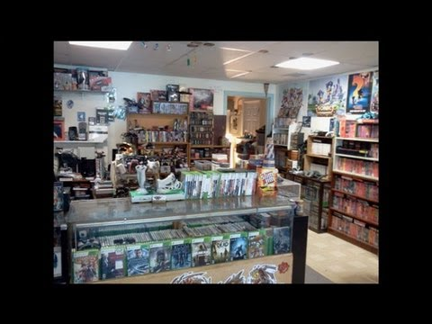 Trip to Funspot Arcade and the Final Stage Game Store in NH