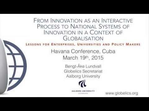 Bengt-Åke Lundvall, Havana Lecture
