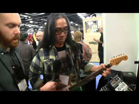 NAMM 2015: Catalinbread Valcoder Tremolo Pedal In Action
