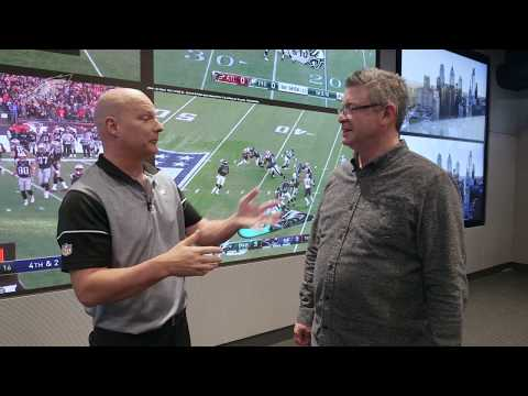 Inside Look At Philadelphia Eagles' New Draft Room
