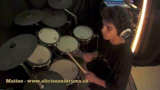 AltrisuoniDrumSchool - Matteo Billeci - I love rock