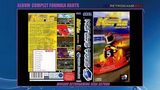 FORMULA KARTS Sega Saturn  Album Music