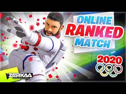 My FIRST ONLINE RANKED Olympics Matches (Tokyo 2020)