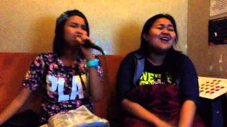 Karaoke in SM Manila - Love on Top with Reina Macaraeg