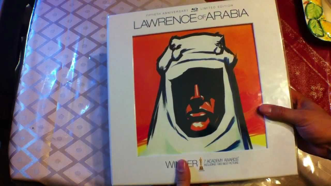 lawrence of arabia 50th anniversary edition blu ray