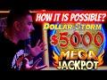 MY BIGGEST JACKPOT On High Limit Dollar Storm Slot Machine! Live Slot Play ! Las Vegas Wynn Casino