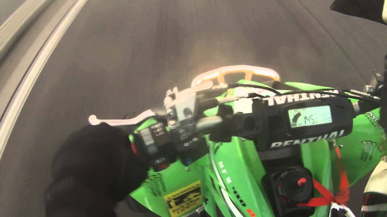Kawasaki KFX 450 R Top Speed - YouTube