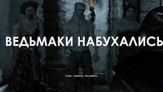 Ведьмак 3 Дикая Охота СМЕШНЫЕ МОМЕНТЫ - ГЕРАЛЬТ НАБУХАЛСЯ С ВЕДЬМАКАМИ И ОДЕЛ ПЛАТЬЕ