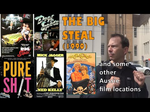 The Big Steal (1990) and some other Aussie film locations