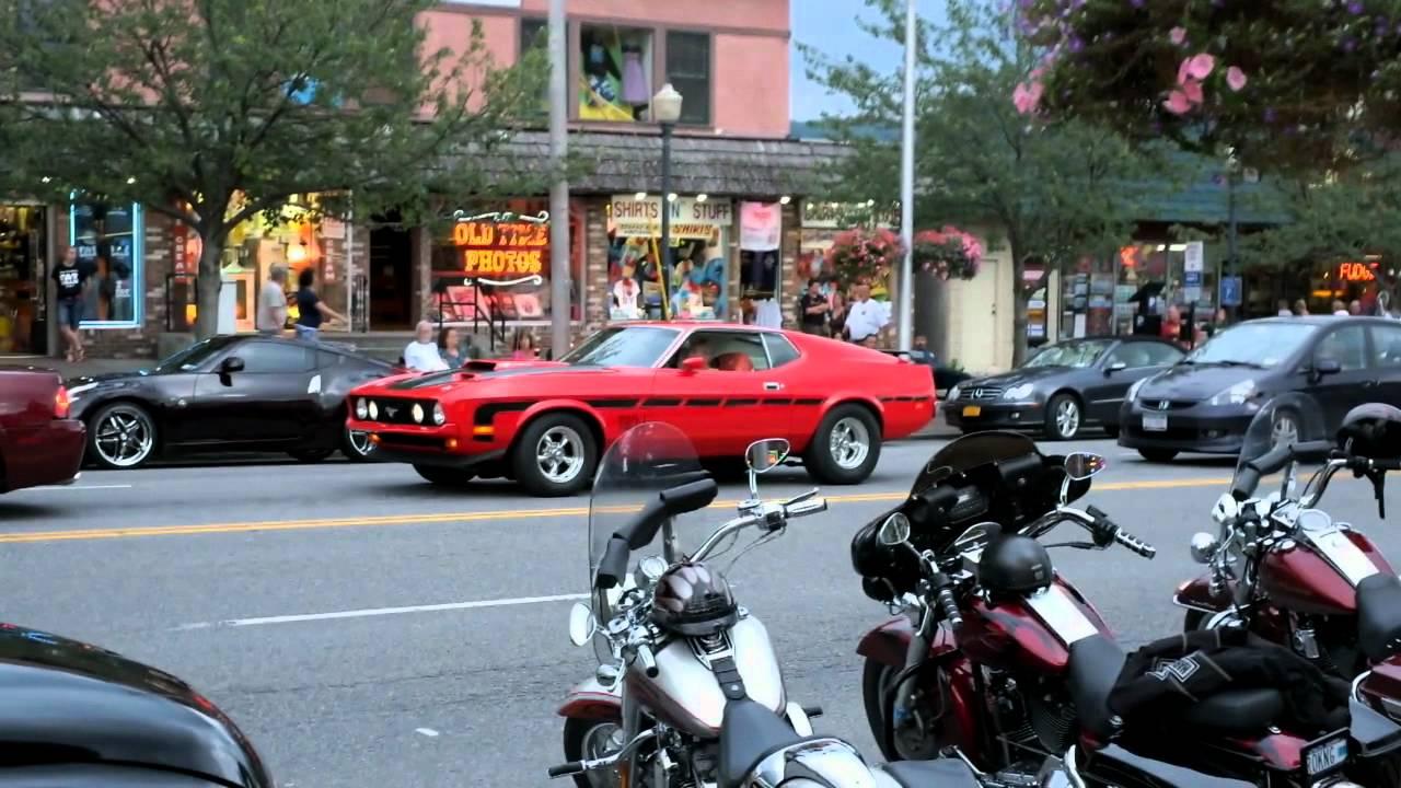 Adirondack National Car Show Lake George Main Street YouTube - Main street car show