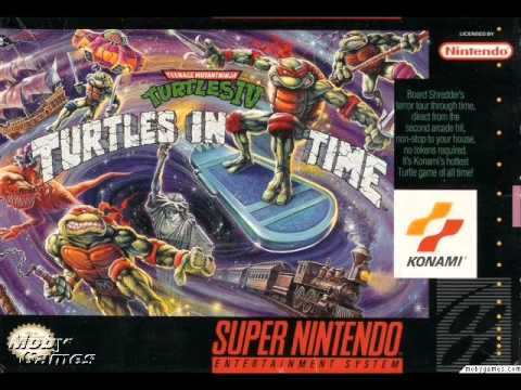 TMNT 4 Turtles in time FULL SOUNDTRACK (Snes)