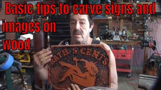 Making a Wood Sign - The Basics - Part 8