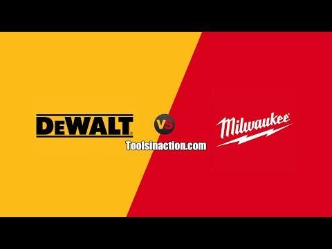 DeWALT Vs Milwaukee - The Epic Battle