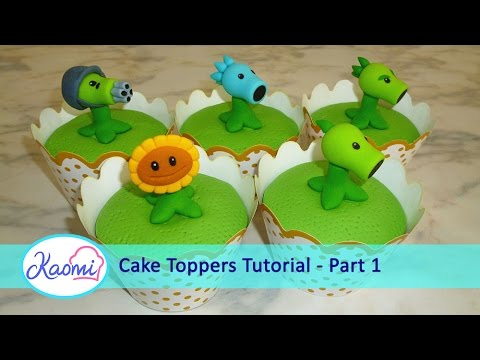 How To Make Plants Vs Zombies Cupcakes Part 1 3