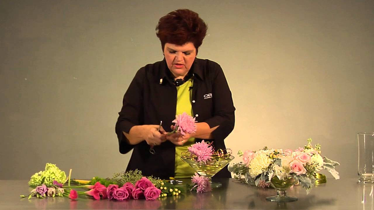 Quick tip how to hold flowers in place with decorative wire youtube quick tip how to hold flowers in place with decorative wire izmirmasajfo