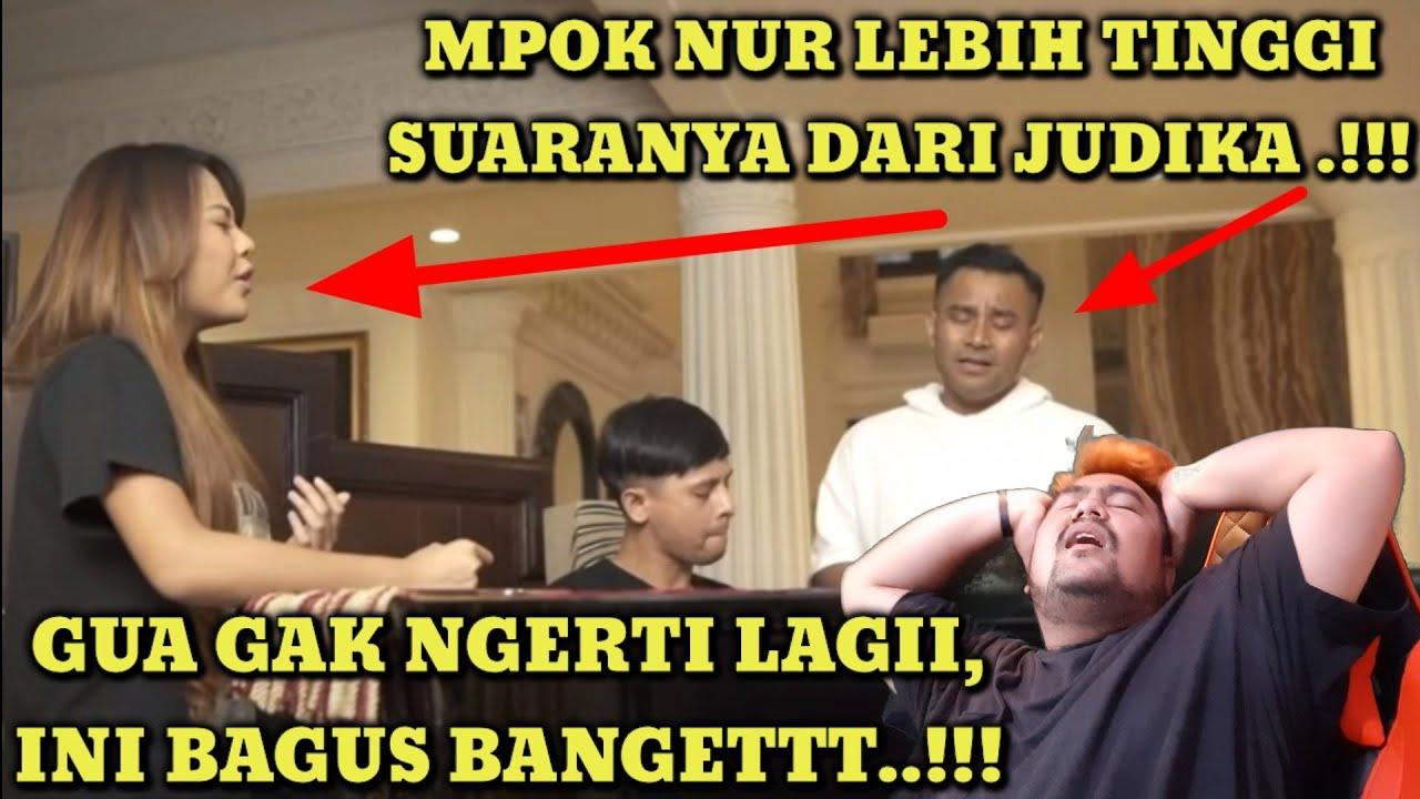 SI MPOK NUR IMBANGIN SUARANYA BANG JUDE, GOKIL!! | JUDIKA X AURELIE HERMANSYAH - BUKAN DIA TAPI AKU